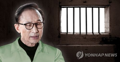 Prosecutors likely to question ex-President Lee in jail early this week