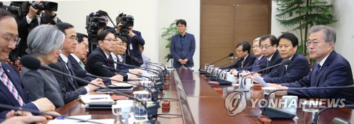 Moon calls for restrained efforts for successful summit with N. Korean leader