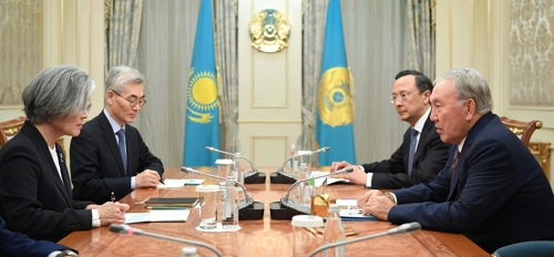 Kazakh president vows to support S. Korea on issues surrounding peninsula: Seoul