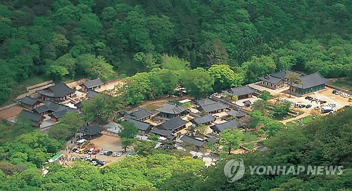 Four S. Korean temples recommended for UNESCO World Heritage list