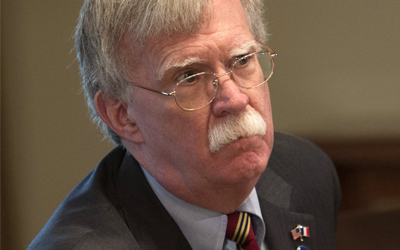 Bolton slams report on U.S. troop reduction as 'utter nonsense'