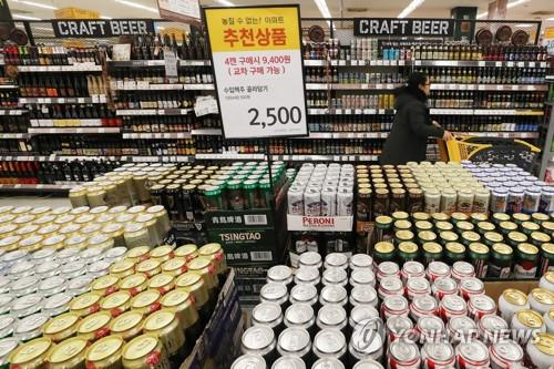 Local beer losing out to foreign rivals, jeopardizing production base