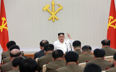 N.K. holds party's military commission meeting to decide on 'organizational' matters