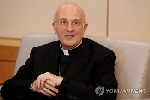 Pope Francis prays for inter-Korean reconciliation, peninsula stability: Vatican's envoy