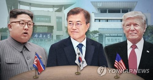 Moon may travel to Singapore for three-way summit to declare end of Korean War