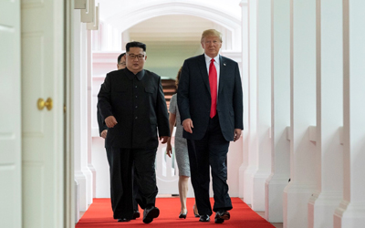 Trump, Kim hold historic summit in Singapore