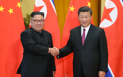 N.K., Chinese leaders discuss denuclearization, pledge closer cooperation