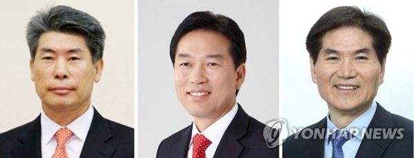 President Moon names three new senior aides