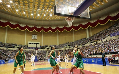 Korea's media report on inter-Korean basketball matches, forestry talks