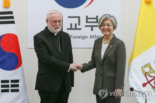 Vatican's top diplomat hopes for N. Korea aid