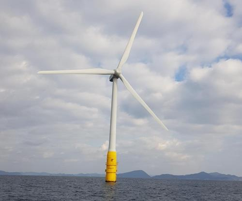 S. Korea's 1st floating offshore wind turbine to begin test operation next year