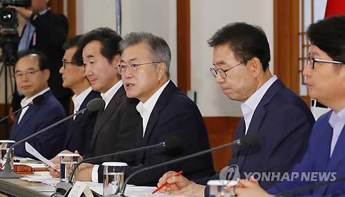 Moon urges local governments' efforts to create jobs