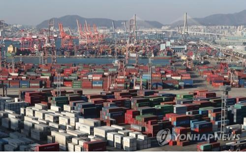 S. Korea's exports up 8.7 pct in August