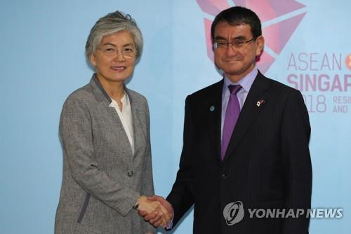 Top diplomats of S. Korea, Japan to meet next week over outcome of envoys' Pyongyang visit