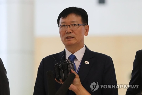 S. Korean officials visit N. Korea for summit preparations