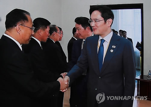 N. Korea seeks assistance, support from ROK business leaders
