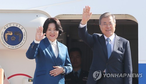 President Moon to have summit talks with his French counterpart on concessions for N. Korea