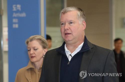 U.S. nuclear envoy arrives in S. Korea for N.K. nuke talks