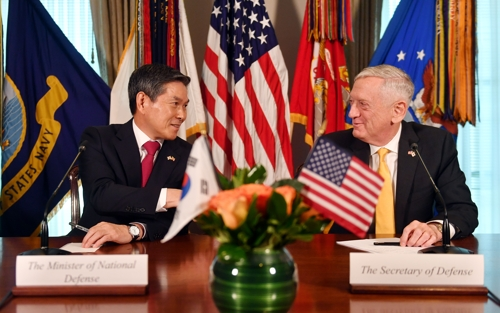 S. Korea, U.S. sign strategic guideline on combined defense after OPCON transfer