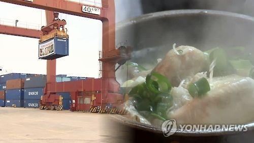 Exports of chicken soup to China soar over three years