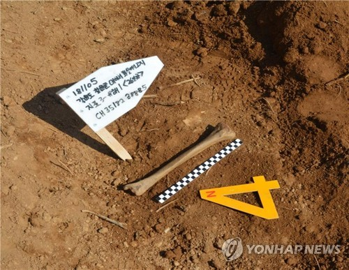 S. Korea discovers 2 additional sets of Korean War remains in DMZ