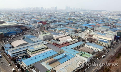 S. Korea's factory utilization rate falls to lowest level since Asian financial crisis