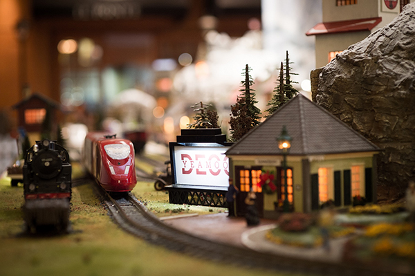 All aboard The 2018 Hilton Christmas Train!
