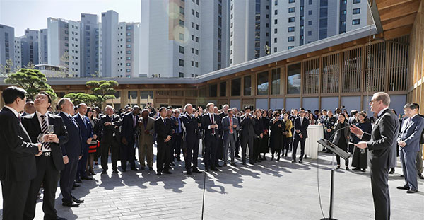 'New Embassy of Switzerland shows longstanding friendship between Korea, Switzerland'