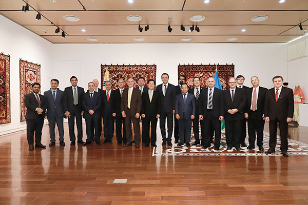 First-ever 'Carpets-Pearls of Azerbaijan' exhibition hosted by the Embassy of Azerbaijan in Seoul