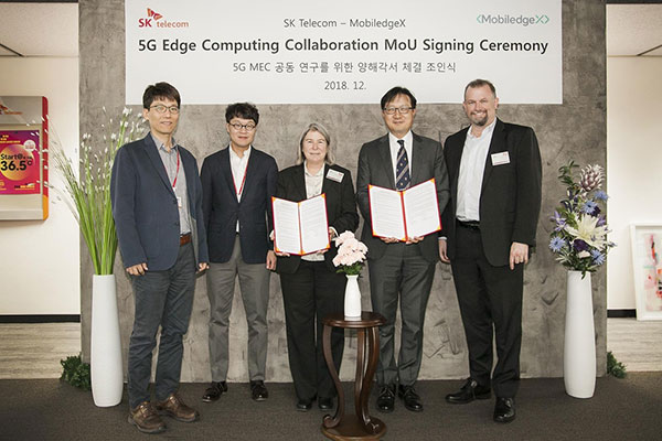 SK Telecom joins forces with Deutsche Telekom on mobile edge computing