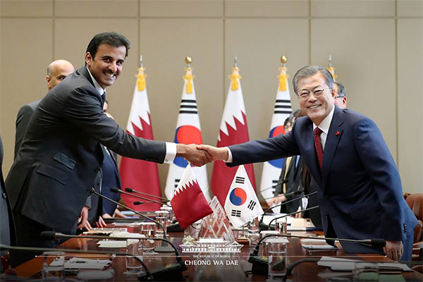 Qatari Emir to visit Korea on Jan. 27-28 for increased bilateral cooperation