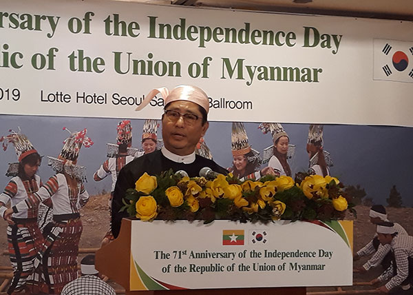 Korea-Myanmar relations, cooperation continue to grow