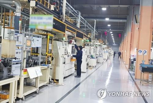 S. Korea's industrial output rises 0.8 pct on-month in January
