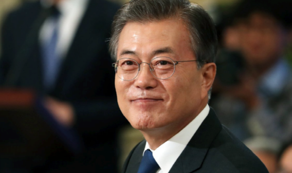 Moon's job approval rating dips to new low: poll