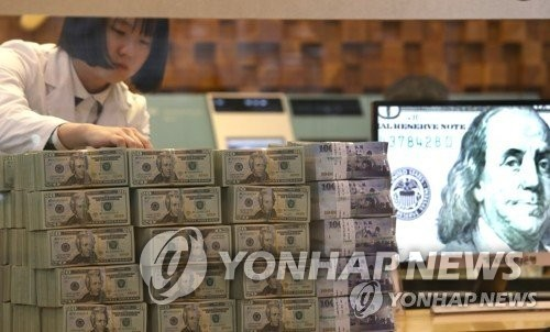 S. Korea sells US$187 mln in FX market intervention in H2 2018