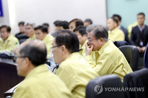 President urges support for victims of Goseong fire