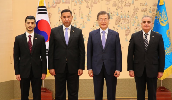'We have excellent collaboration with Korea in bilateral, multilateral areas'