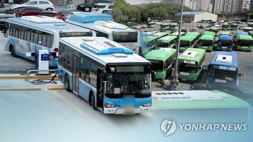 Drivers Seoul buses have last-minute negotiation with management leaders