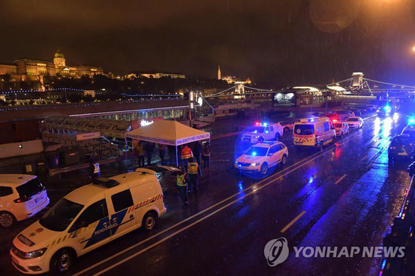 7 South Koreans killed, 19 missing in Hungary cruise sinking: foreign ministry
