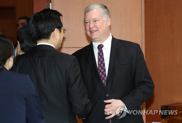 U.S. envoy for N.K. to give public speech amid stalled talks