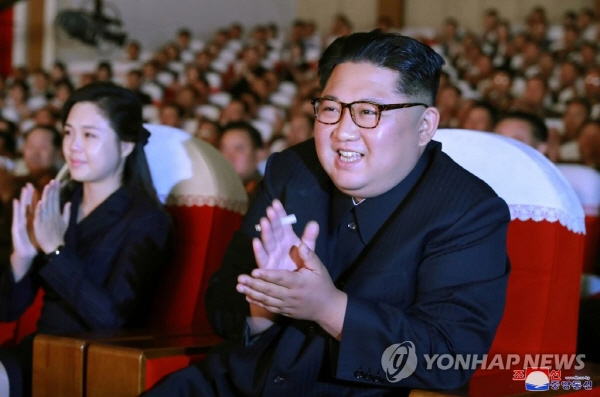 N. Korean leader watches art performance with Kim Yong-chol amid rumor of purge