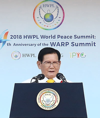 HWPL World Peace Summit provides platform for political, religious, youth, women, media, other leaders