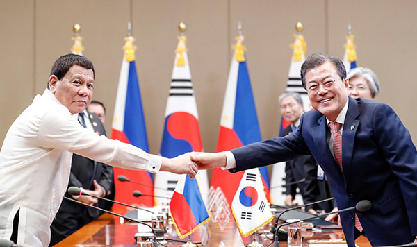 Relations, cooperation between Korea and the Philippines grow by leaps and bounds