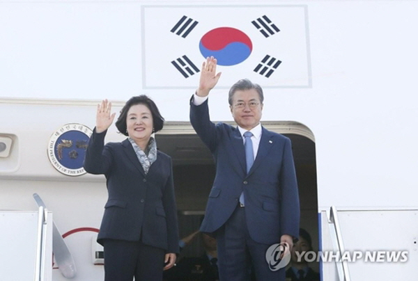 Moon to leave for Northern Europe for talks on peace, innovative growth