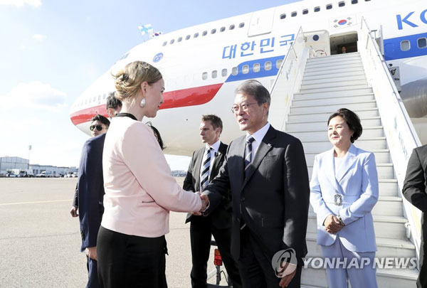 President Moon to have summit with Finnish counterpart