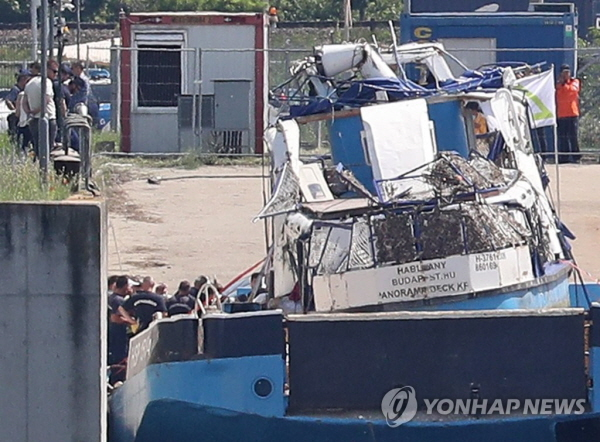 3 remain missing in Hungary boat sinking after another body confirmed to be S. Korean