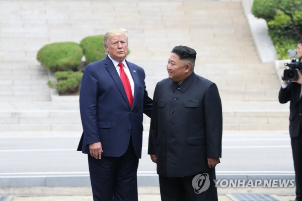 Trump says he looks forward to seeing Kim again soon