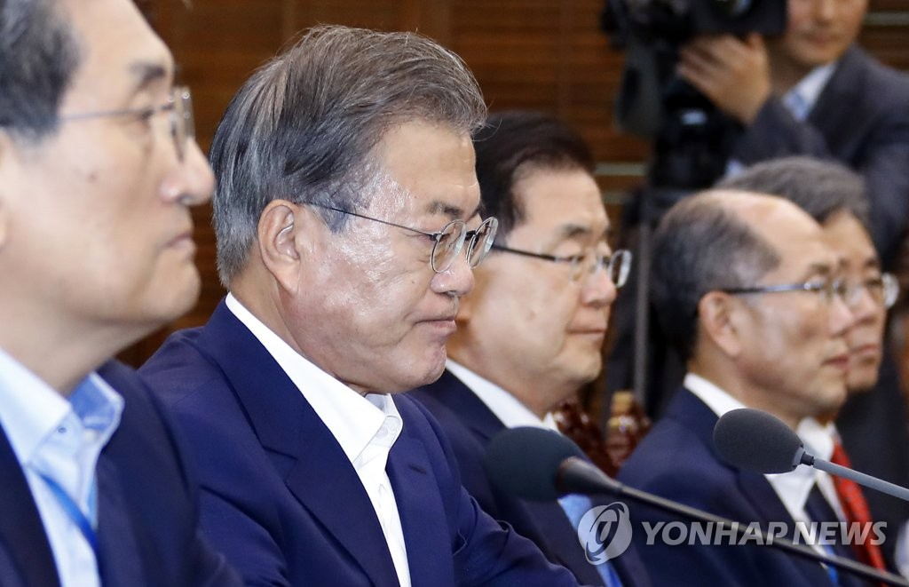 Moon warns Japan will suffer more damage from export curbs against S. Korea