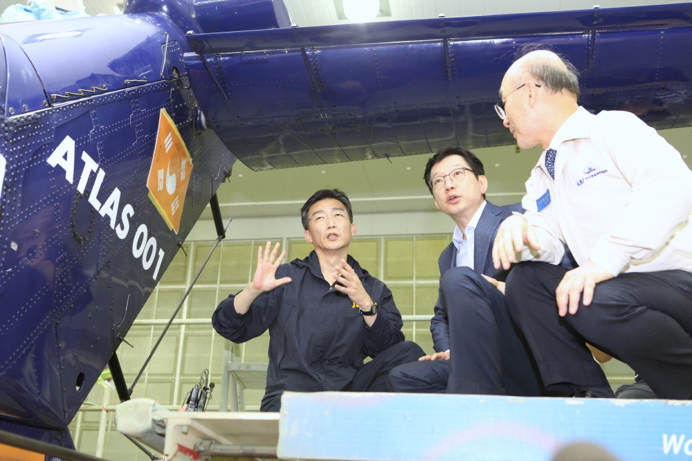 Gov. Kim Kyung-soo vows to strengthen aerospace industry of Gyeongsangnam-do