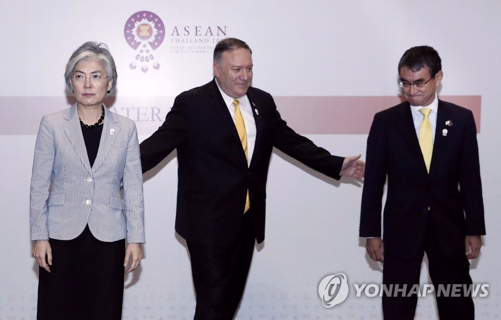 Seoul-Tokyo tensions threaten trilateral cooperation with U.S.: CRS report